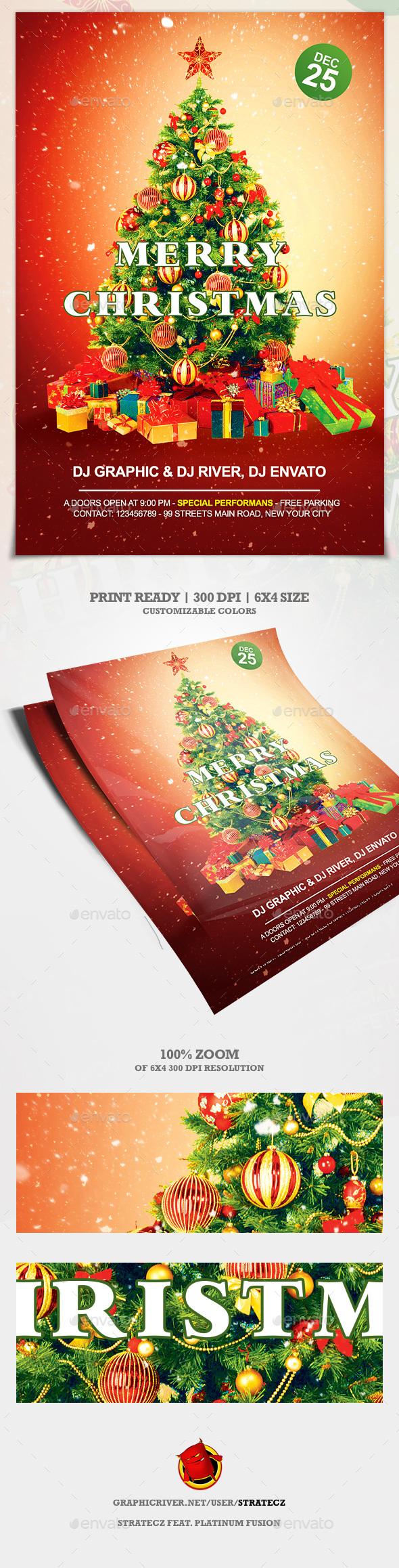 Christmas Flyer - Print Templates