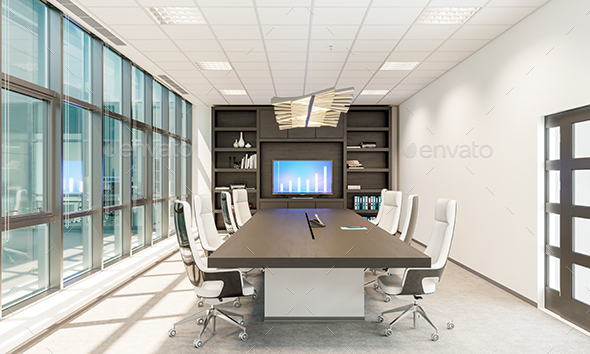 GraphicRiver Modern Meeting Room 21082002