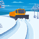 Snow Transport Illustration