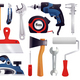 Repair Renovation Carpentry Tools Set
