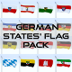 Animated German Flag Pack
