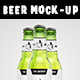 Beer Bottle Mock-up
