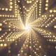 Gold Glitter Tunnel Loop V6