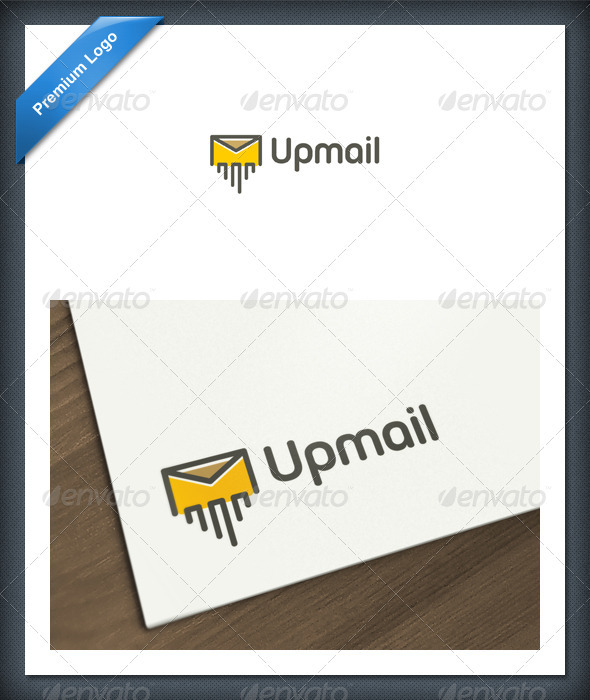 Up Mail Logo Template - Objects Logo Templates