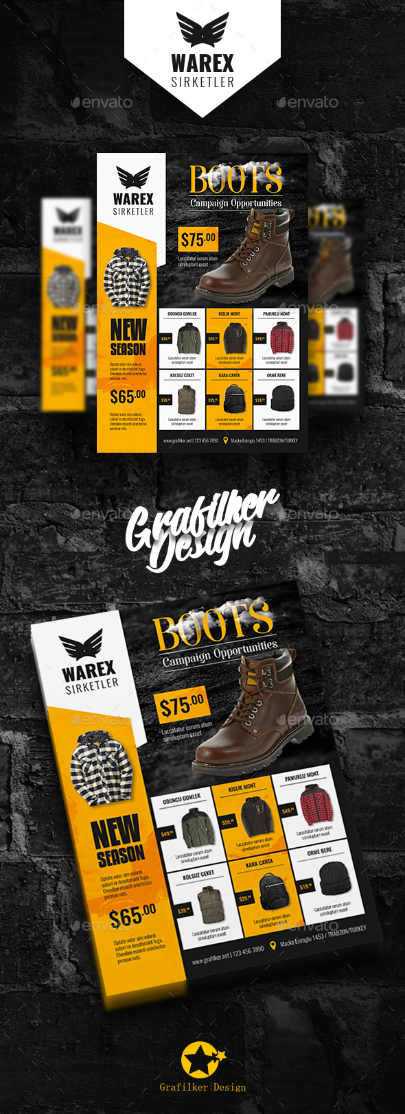 GraphicRiver Shopping Product Flyer Templates 21082829