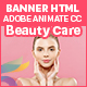 Beauty Care HTML5 Ad Banners - 7 size (Animate CC) - CodeCanyon Item for Sale