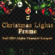 Christmas Lights Frame - VideoHive Item for Sale