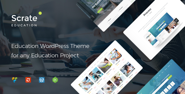 Scrate - WordPress Theme for Education and Teaching Online Courses - Education WordPress