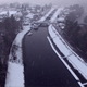 Aerial over River while Snowing in Scotland - VideoHive Item for Sale