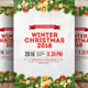 Christmas Winter Party Flyer - GraphicRiver Item for Sale