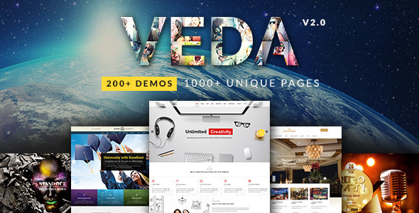 Image of VEDA | Multi-Purpose Theme