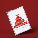 Christmas Paper Flyer Greeting Card Mock-Up V.2 - GraphicRiver Item for Sale