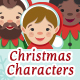 Santa's Helpers - A Set of Christmas Characters