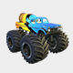 Monster Truck Bigfoot PBR - 3DOcean Item for Sale