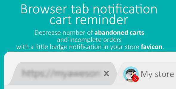 Download Source code              Browser tab badge notification - cart reminder            nulled nulled version