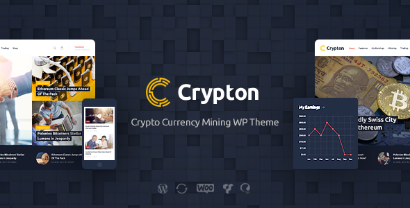 Image of Crypton | Cryptocurrency & Mining WP Theme