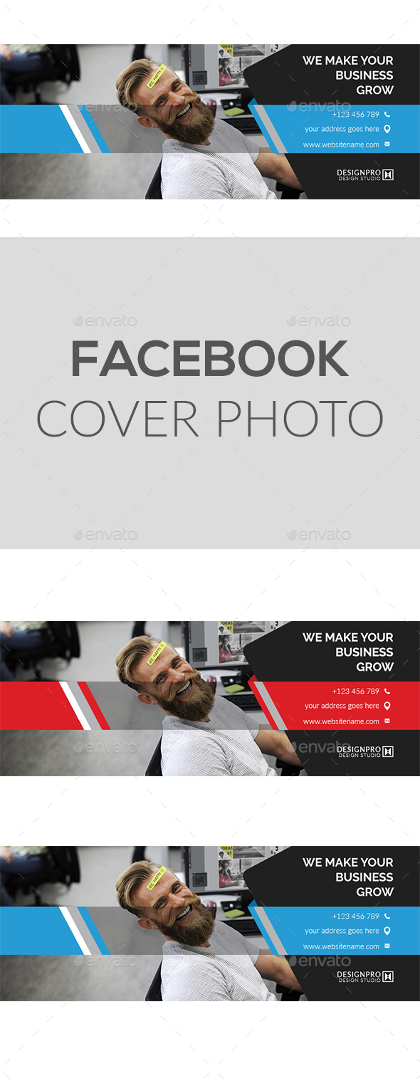 GraphicRiver Facebook Cover Design 21083947