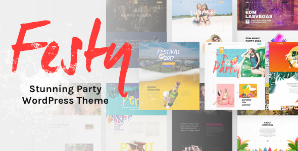 Image of Festy Event WordPress Theme