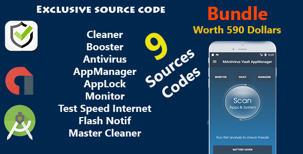 CodeCanyon 2018 Mega Bundle 9 source codes worth $590 USD 21084182