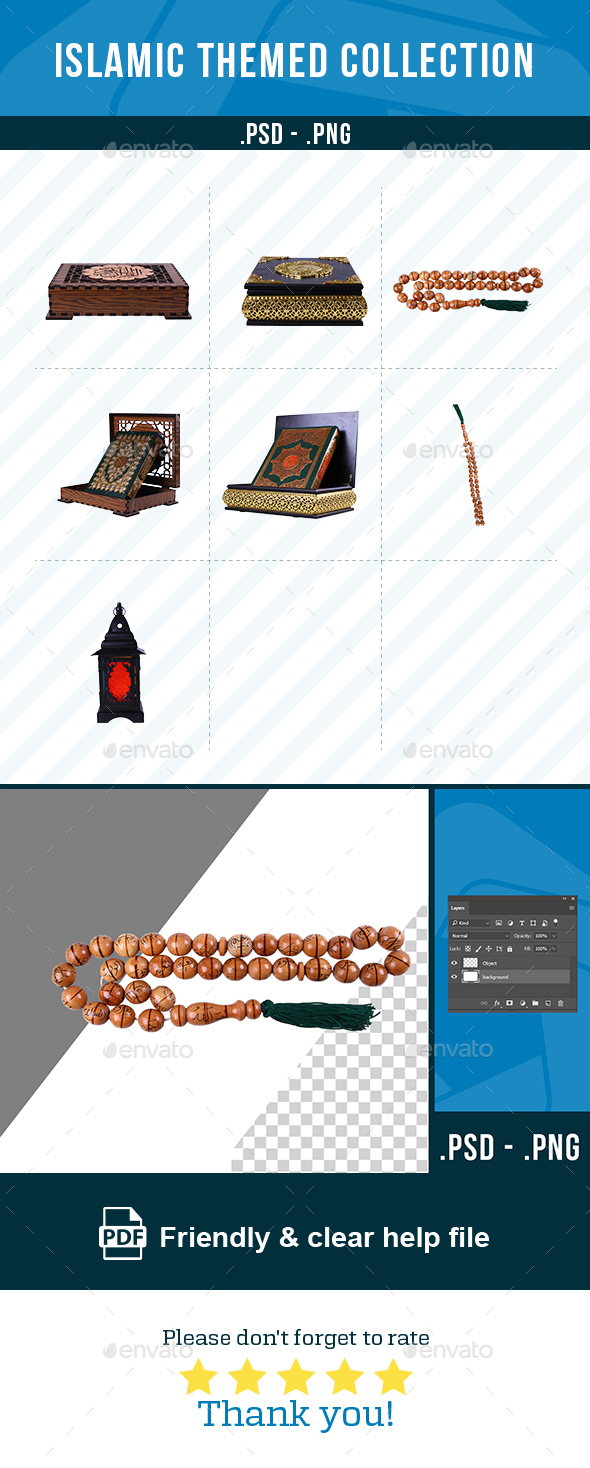 GraphicRiver Islamic Themed Collection 21084301