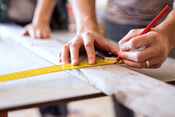 Small business of a young couple. - Stock Photo - Images