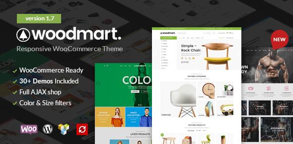 Image of WoodMart - Responsive WooCommerce WordPress Theme