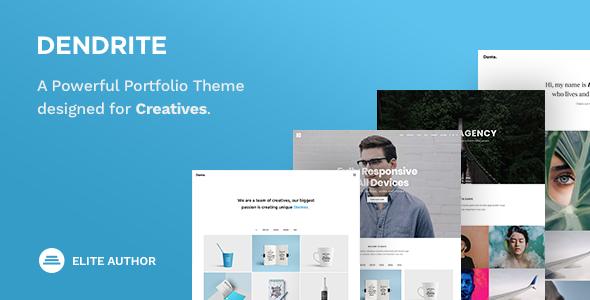 Image of Dendrite - Creative Portfolio Theme
