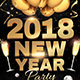 NYE 2018 Flyer Template - GraphicRiver Item for Sale