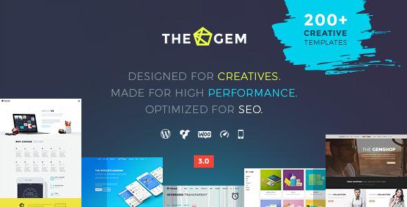 Image of TheGem - Creative Multi-Purpose High-Performance WordPress Theme