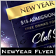 Majestic New Year Flyer