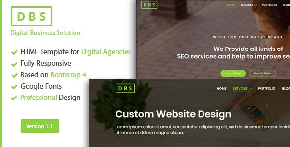 Image of Digital Agency/SEO/Marketing HTML Template
