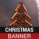 Christmas Dining Banner - GraphicRiver Item for Sale