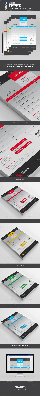 GraphicRiver Invoice 21084956