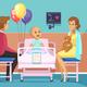 Cancer Patient Illustration