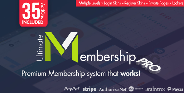 Get Ultimate Membership Pro 6 7 NULLED Full Free Download