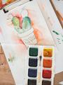 Watercolor Painting - PhotoDune Item for Sale
