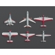 Airplanes and Military Aircraft Top View - GraphicRiver Item for Sale