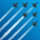 Military Fighter Jets with Condensation Trails - GraphicRiver Item for Sale