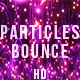 Purple Particles Bounce - VideoHive Item for Sale