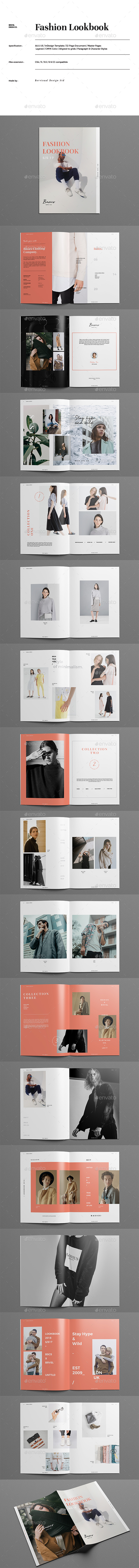 GraphicRiver Fashion Lookbook Catalog 21085949