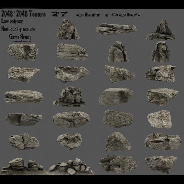 3DOcean cliff rocks 1 21086165