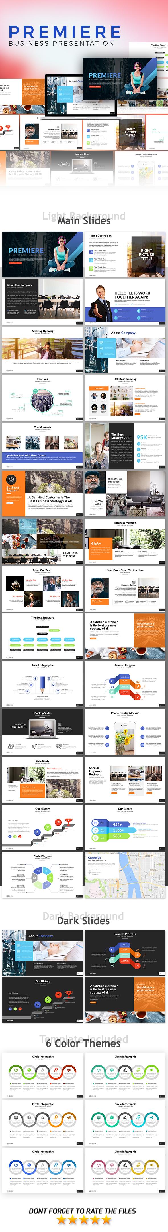GraphicRiver Premiere Presentation Template 21086202