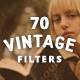 70 Vintage Old Photo Filter Template