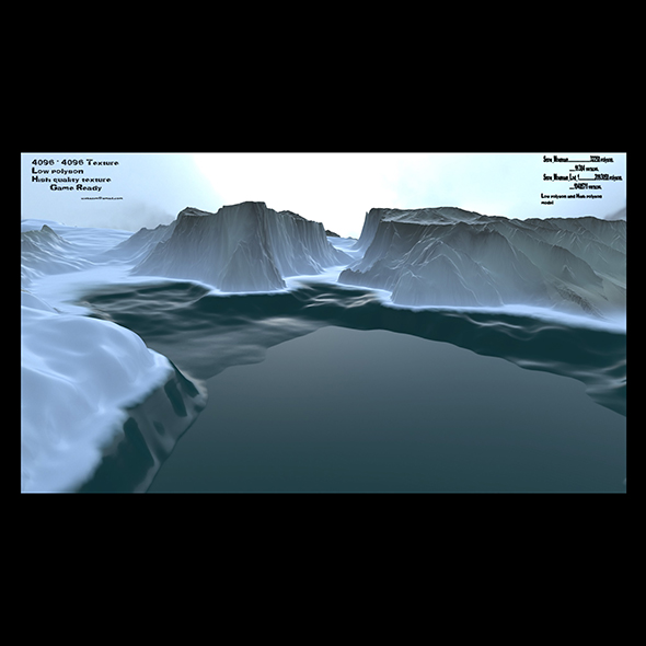 3DOcean snow terrain 21086277