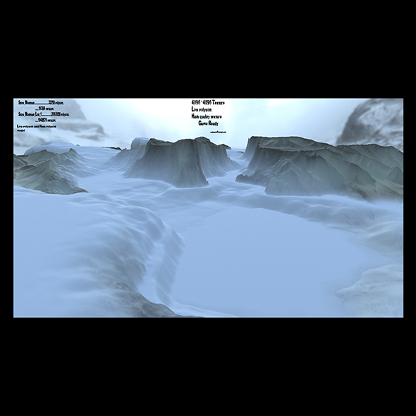 3DOcean snow terrain 1 21086281