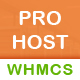 Prohost WHMCS and HTML Template