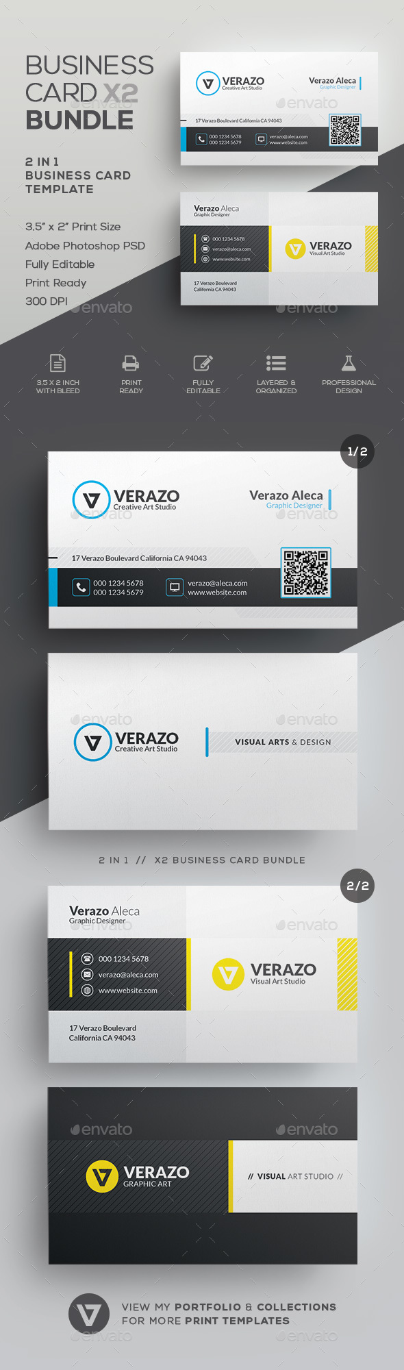 GraphicRiver Business Card Bundle 42 21086445