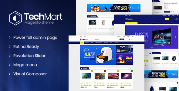 Download Techmart - Multi-Purpose Responsive Magento2 Theme            nulled nulled version