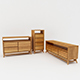 Bedroom Storage Set - 3DOcean Item for Sale