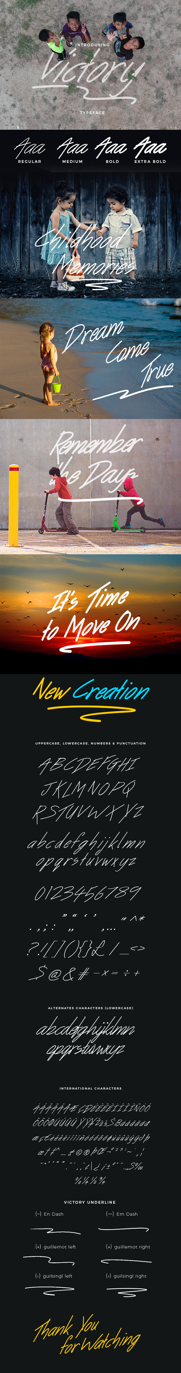 GraphicRiver Victory Handwritten Font 21086584